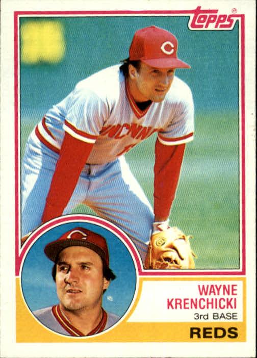 1983 Topps #374 Wayne Krenchicki