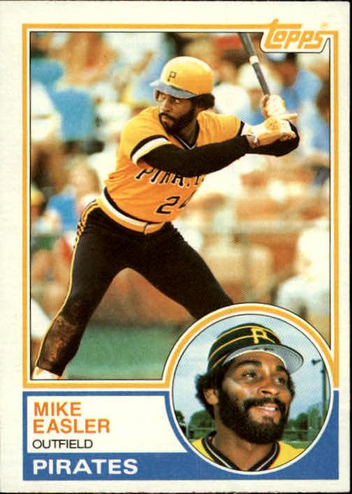 1983 Topps #385 Mike Easler