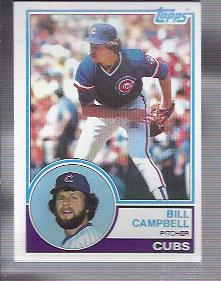 1983 Topps #436 Bill Campbell