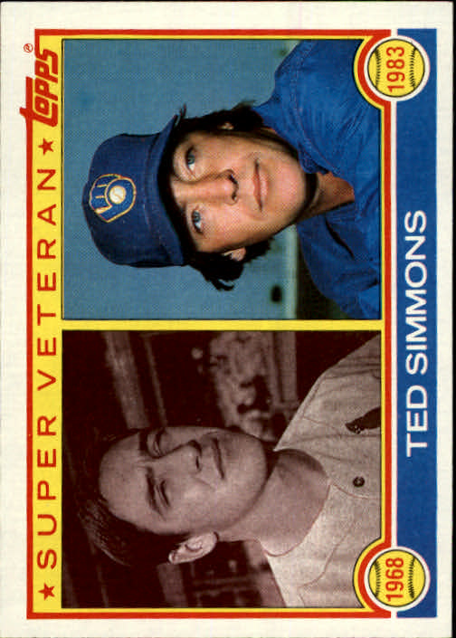 1983 Topps #451 Ted Simmons SV