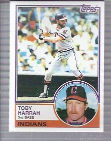 1983 Topps #480 Toby Harrah