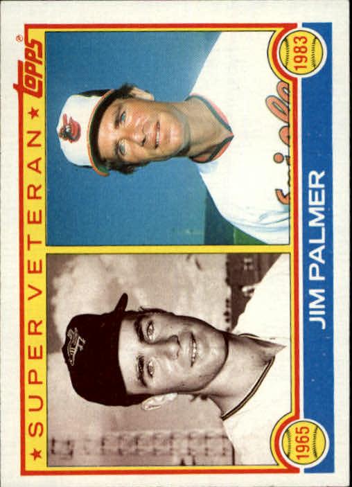 1983 Topps #491 Jim Palmer SV