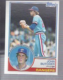 1983 Topps #534 John Butcher