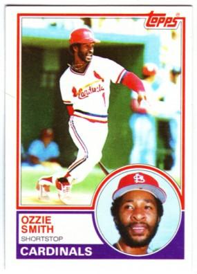 1983 Topps #540 Ozzie Smith