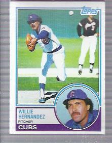 1983 Topps #568 Willie Hernandez