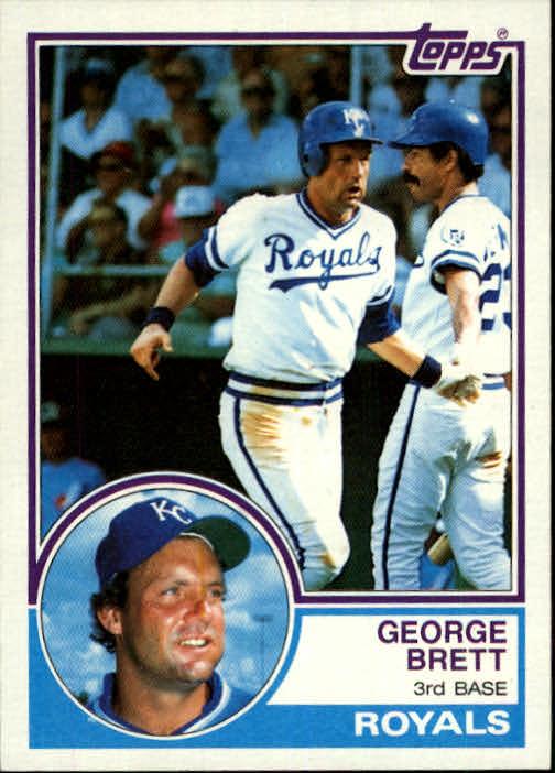 1983 Topps #600 George Brett
