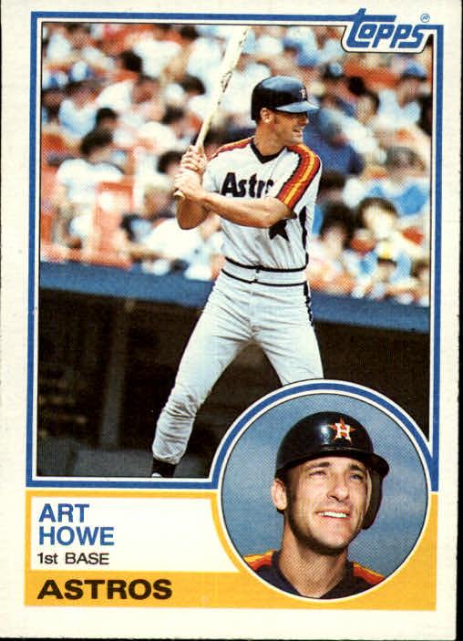 1983 Topps #639 Art Howe