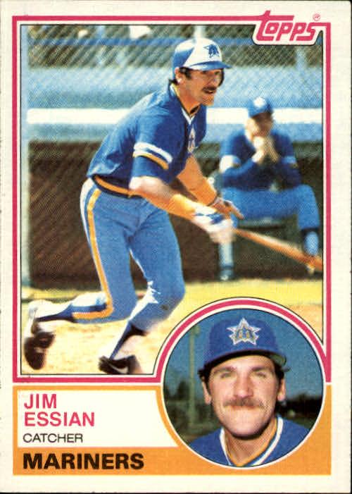 1983 Topps #646 Jim Essian