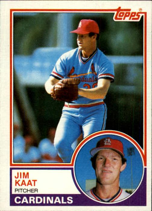 1983 Topps #672 Jim Kaat
