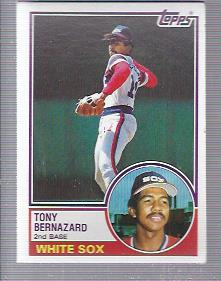1983 Topps #698 Tony Bernazard