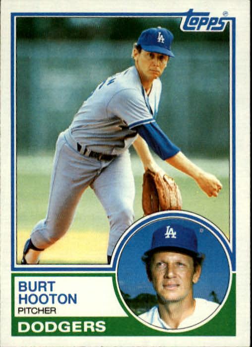 1983 Topps #775 Burt Hooton