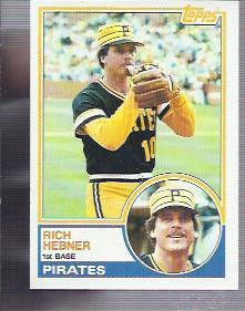 1983 Topps #778 Rich Hebner