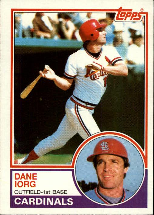 1983 Topps #788 Dane Iorg
