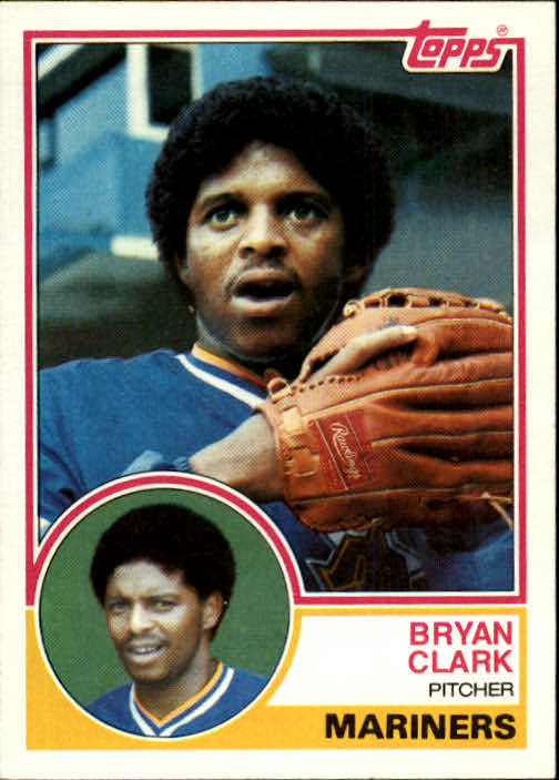 1983 Topps #789 Bryan Clark