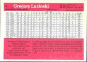 1983 Donruss Action All-Stars #4 Greg Luzinski back image