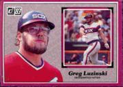 1983 Donruss Action All-Stars #4 Greg Luzinski