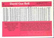 1983 Donruss Action All-Stars #40 Buddy Bell back image
