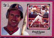 1983 Donruss Action All-Stars #59 Fred Lynn