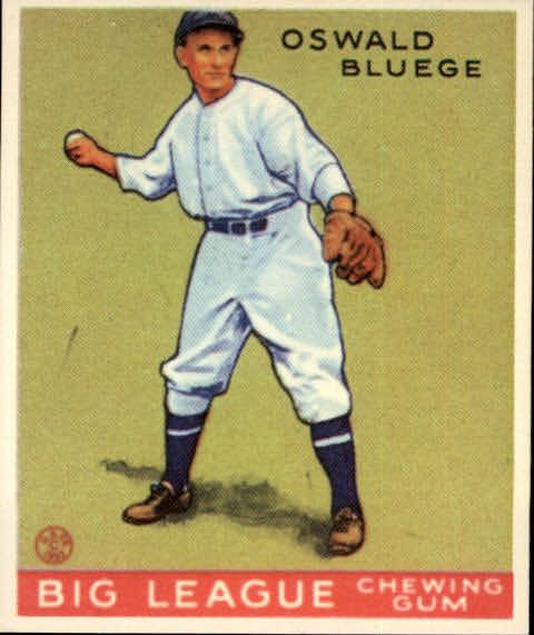 1983 Galasso '33 Goudey Reprint #159 Oswald Bluege