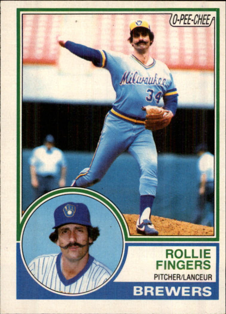 1983 O-Pee-Chee #35 Rollie Fingers