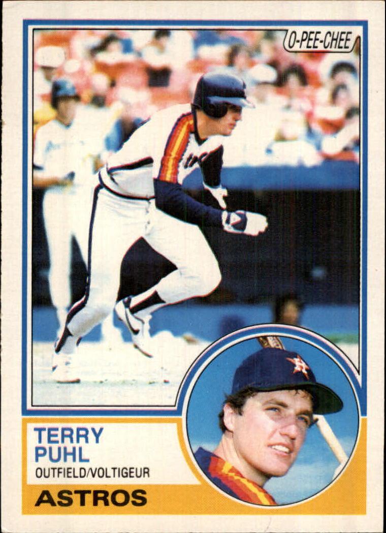 1983 O-Pee-Chee #39 Terry Puhl