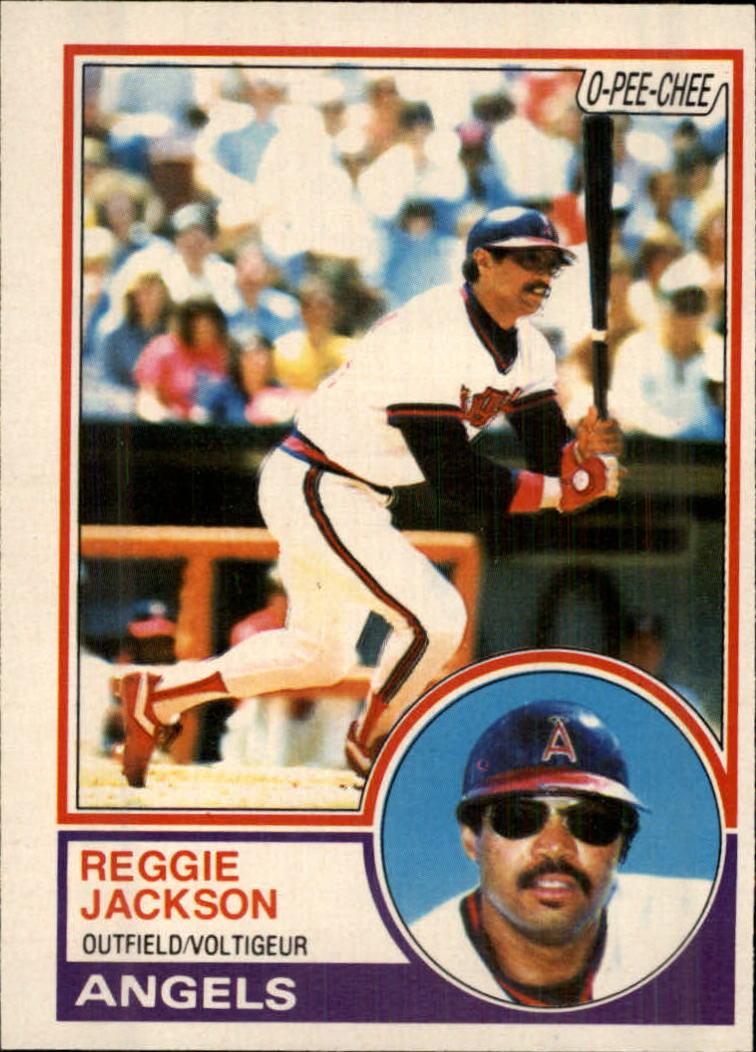 1983 O-Pee-Chee #56 Reggie Jackson