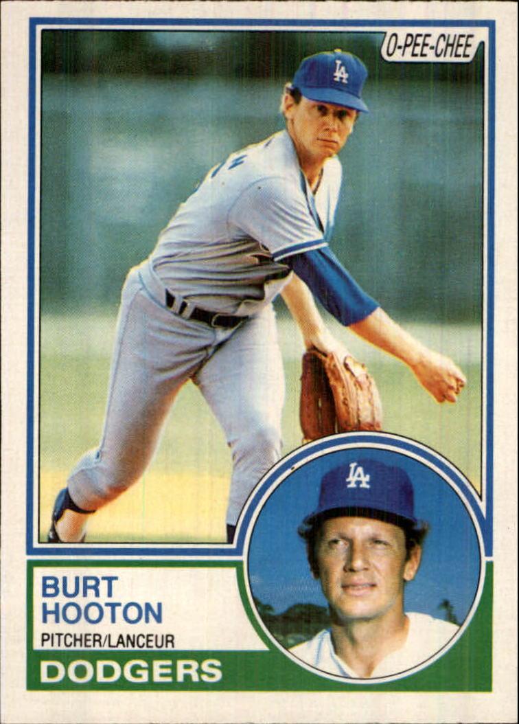 1983 O-Pee-Chee #82 Burt Hooton