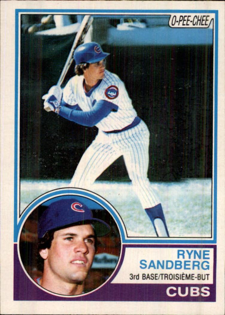 1983 O-Pee-Chee #83 Ryne Sandberg RC