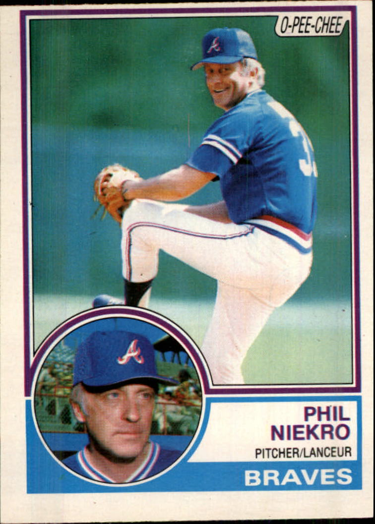 1983 O-Pee-Chee #94 Phil Niekro
