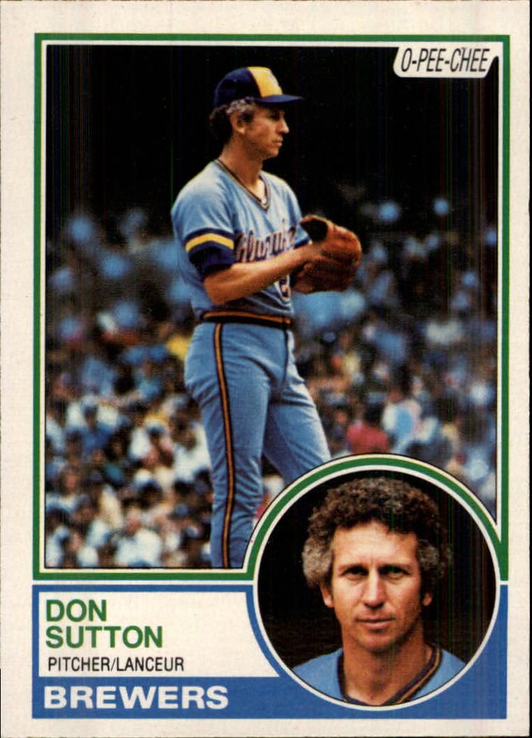 1983 O-Pee-Chee #145 Don Sutton