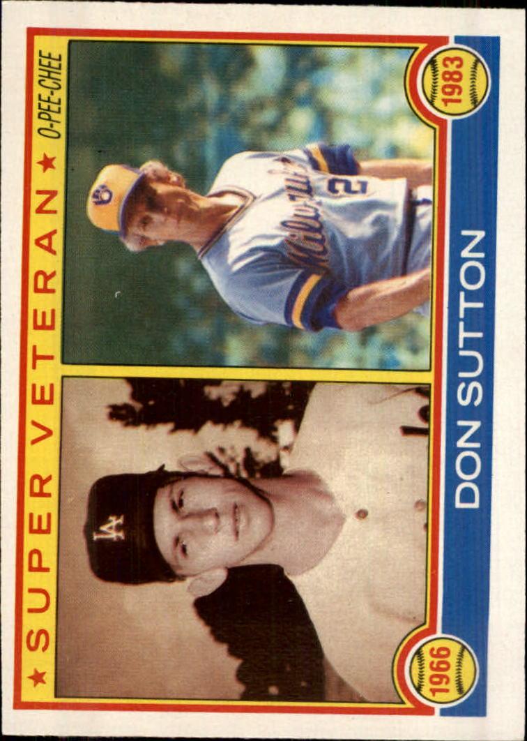 1983 O-Pee-Chee #146 Don Sutton SV