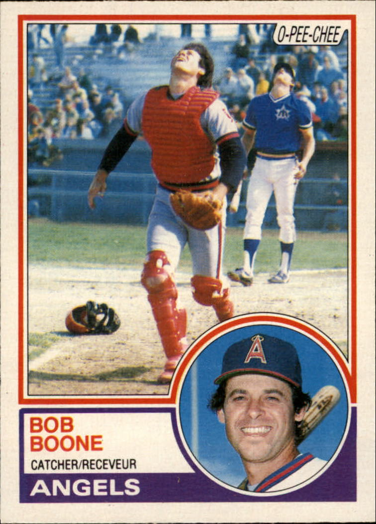 1983 O-Pee-Chee #366 Bob Boone