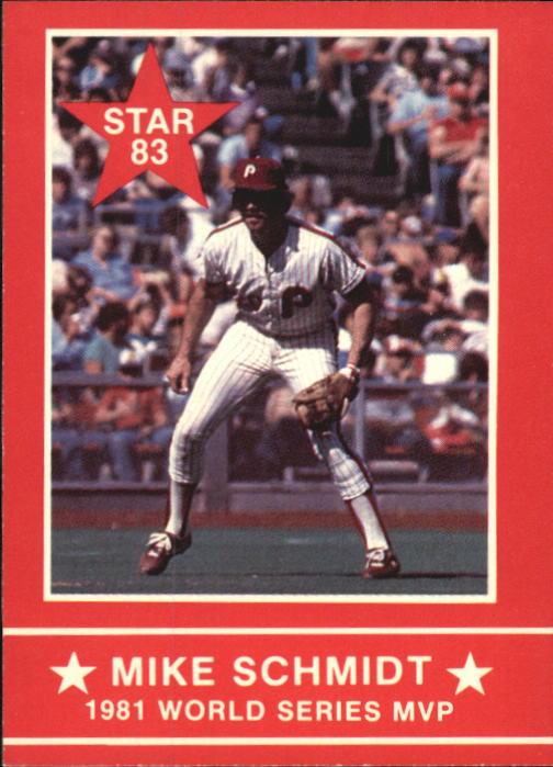 1983 Star Schmidt #4 Mike Schmidt/1981 W.S. MVP