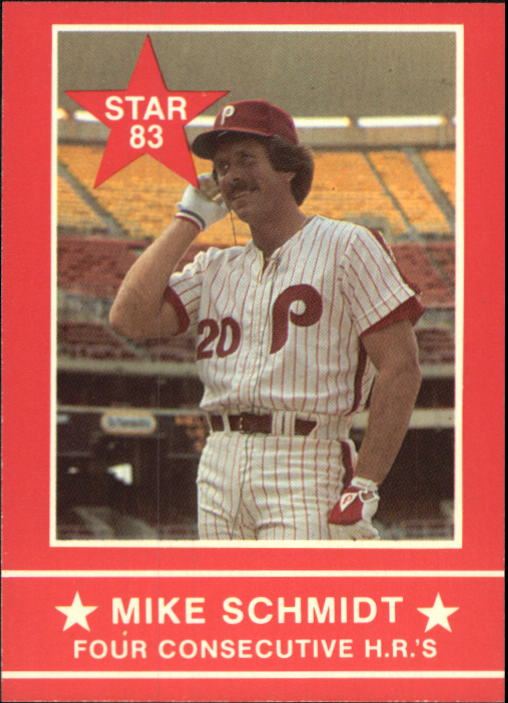 1983 Star Schmidt #11 Mike Schmidt/Four Cons. HR's