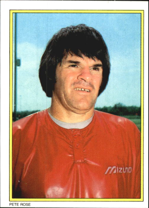 1983 Topps Glossy Send-Ins #14 Pete Rose