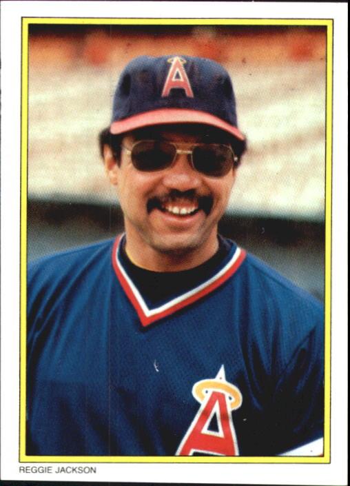 1983 Topps Glossy Send-Ins #39 Reggie Jackson