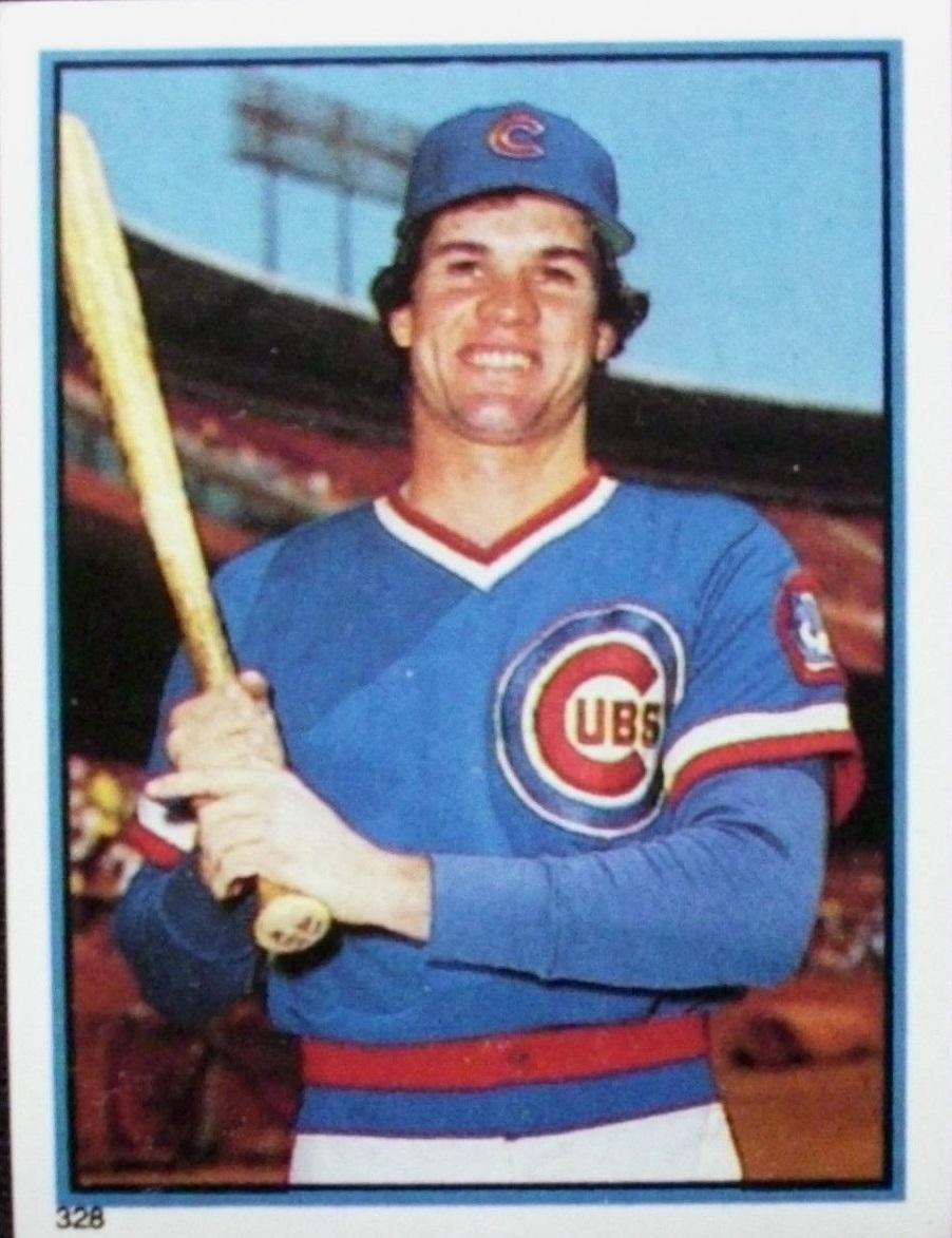 1983 Topps Stickers #328 Ryne Sandberg