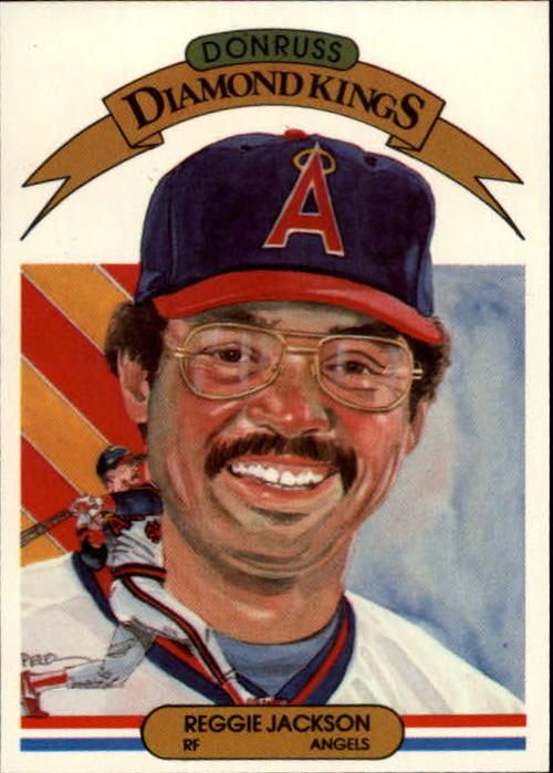 1983 Donruss #3 Reggie Jackson DK