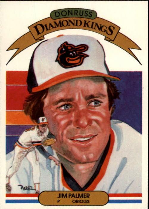1983 Donruss #4 Jim Palmer DK