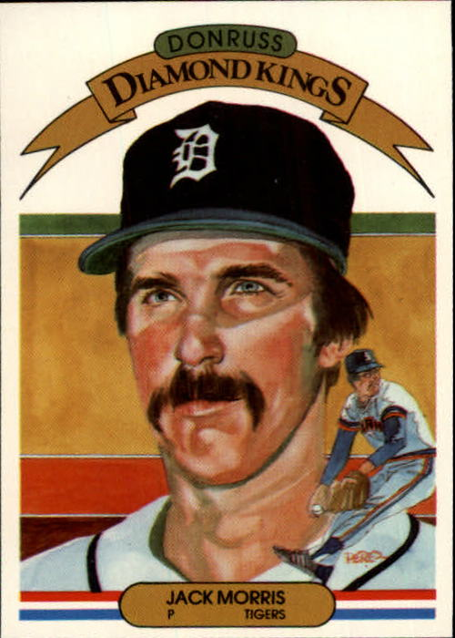 1983 Donruss #5 Jack Morris DK