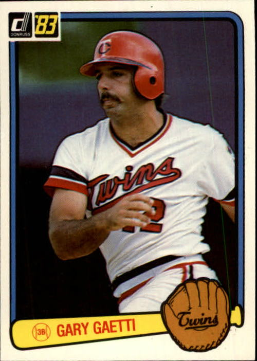 1983 Donruss #53 Gary Gaetti RC