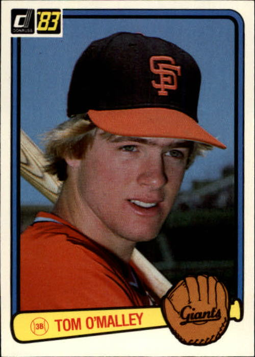 1983 Donruss #96 Tom O'Malley