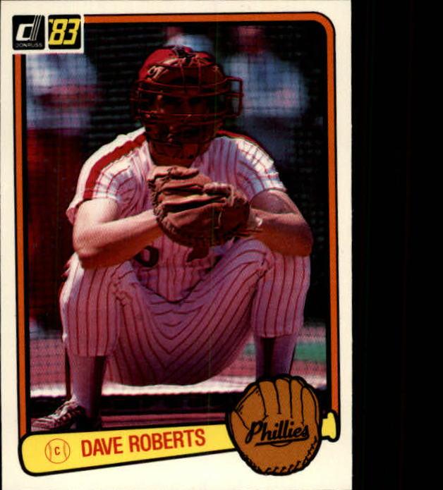 1983 Donruss #273 Dave Roberts