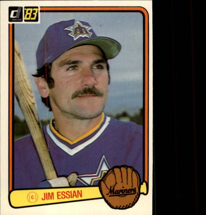 1983 Donruss #478 Jim Essian