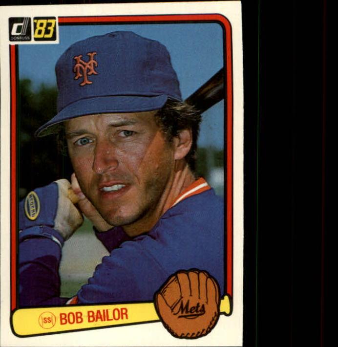 1983 Donruss #506 Bob Bailor