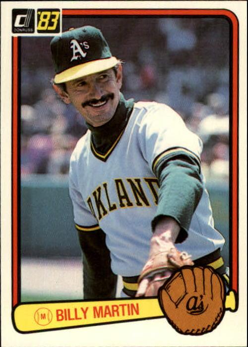1983 Donruss #575 Billy Martin MG