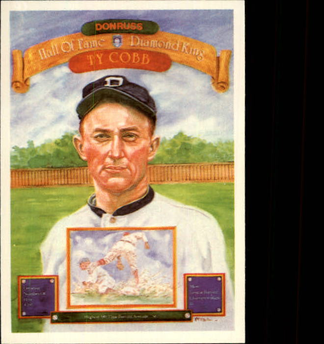 1983 Donruss #653 Ty Cobb Puzzle Card