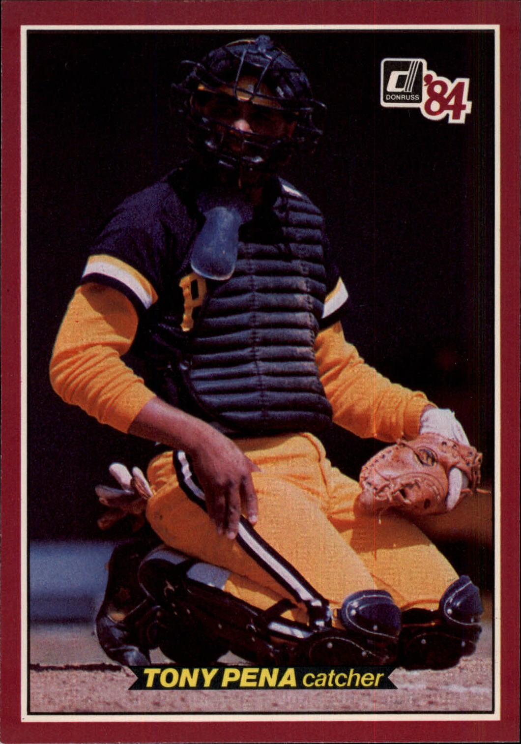 1984 Donruss Action All-Stars #3 Tony Pena