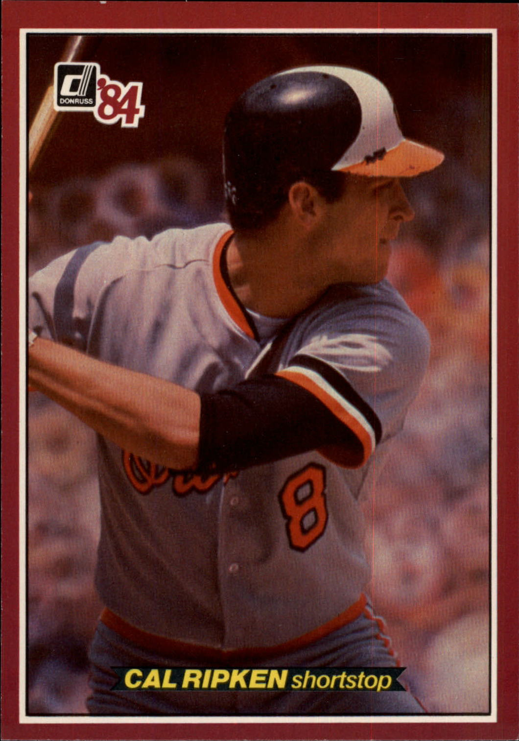 1984 Donruss Action All-Stars #20 Cal Ripken
