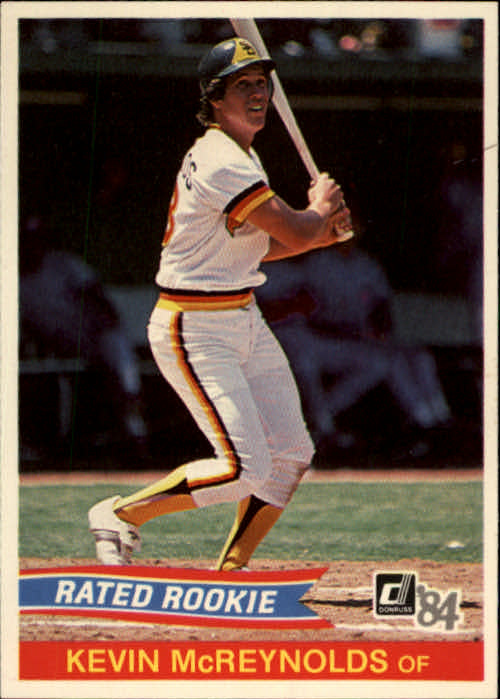 1984 Donruss #34 Kevin  McReynolds RC